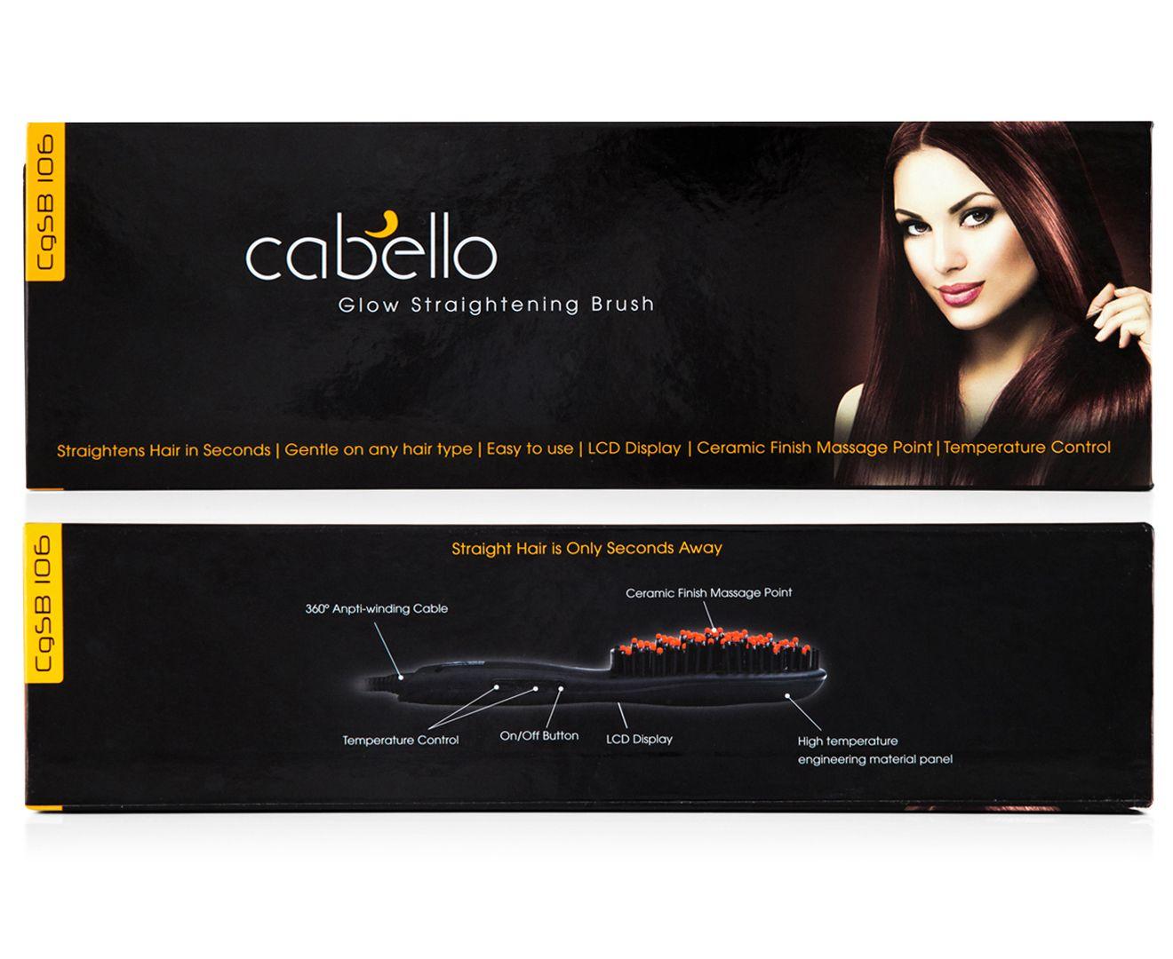 Cabello Glow Straightening Brush