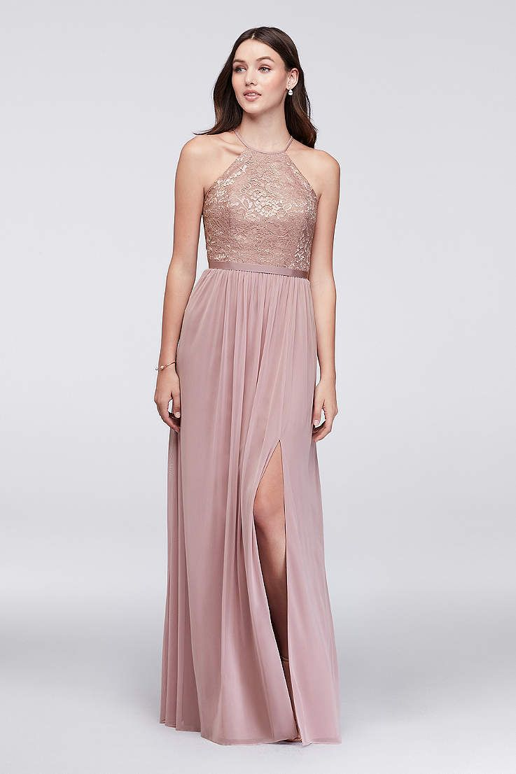 Picturing your bridal party in pretty sequin bridesmaid dresses ...