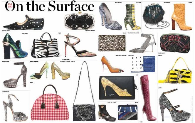 Bags & Shoes Fall 2013
