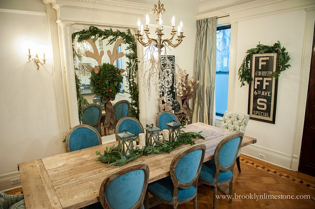 The Best Window Treatments For A Brooklyn Brownstone The Shade Company Dining Room Storage Dining Room Dining