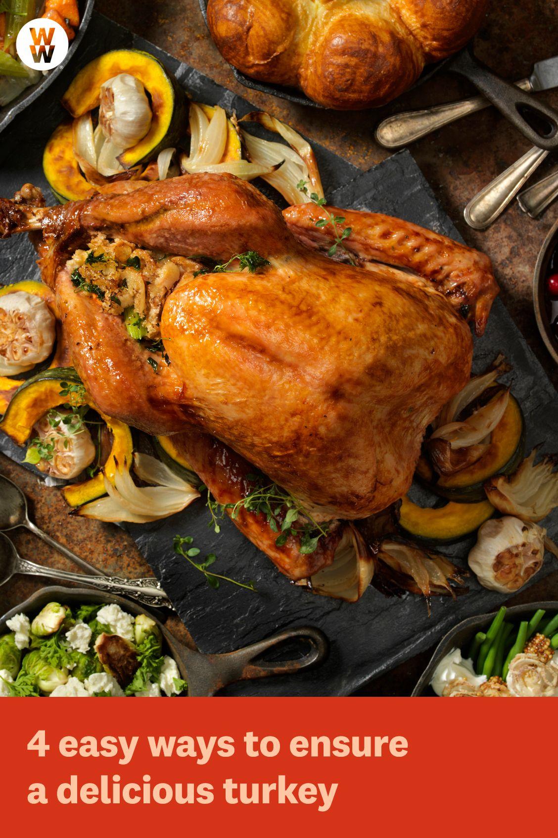 4 easy ways to ensure a delicious turkey   Healthy recipes ...