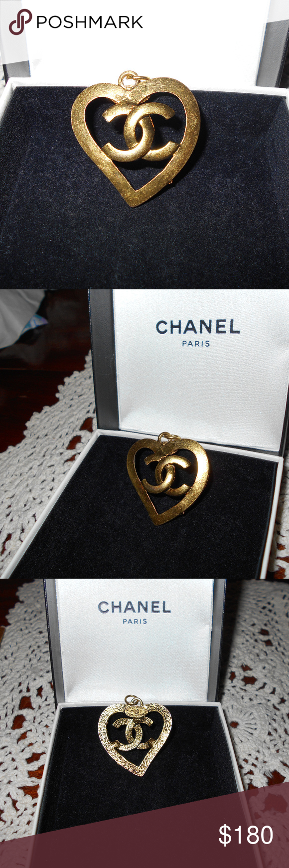 AUTHENTIC CHANEL PENDANT This is an authentic, vintage