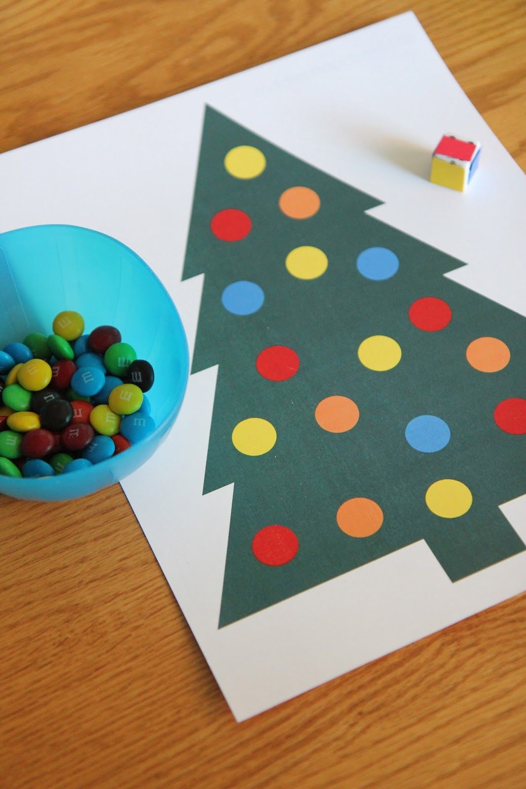 Roll A Christmas Tree Color Game Toddler Approved Christmas Tree Game Toddler Christmas Christmas Tree Coloring Page