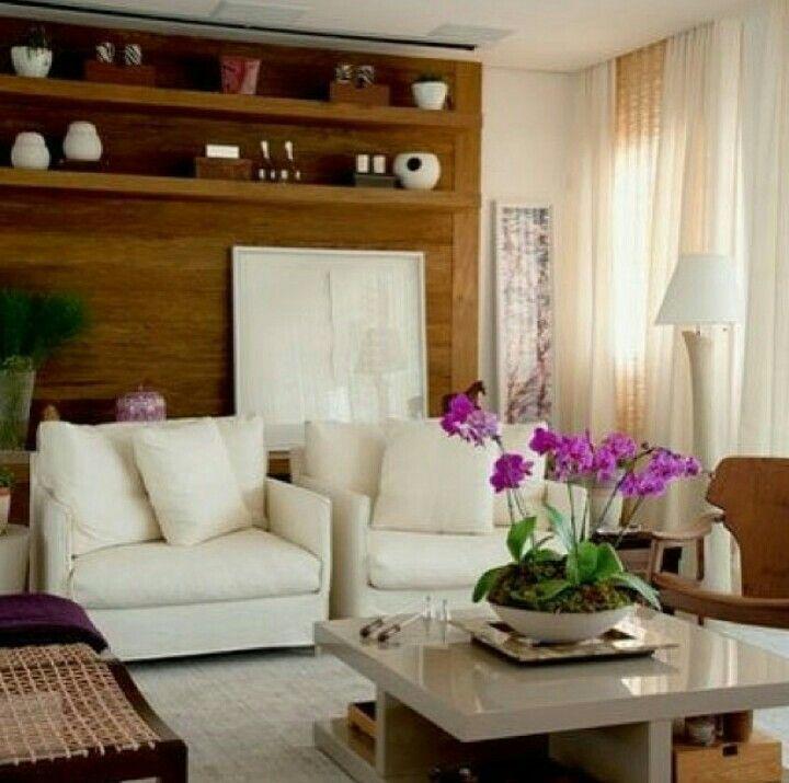 Opções de sala de estar.