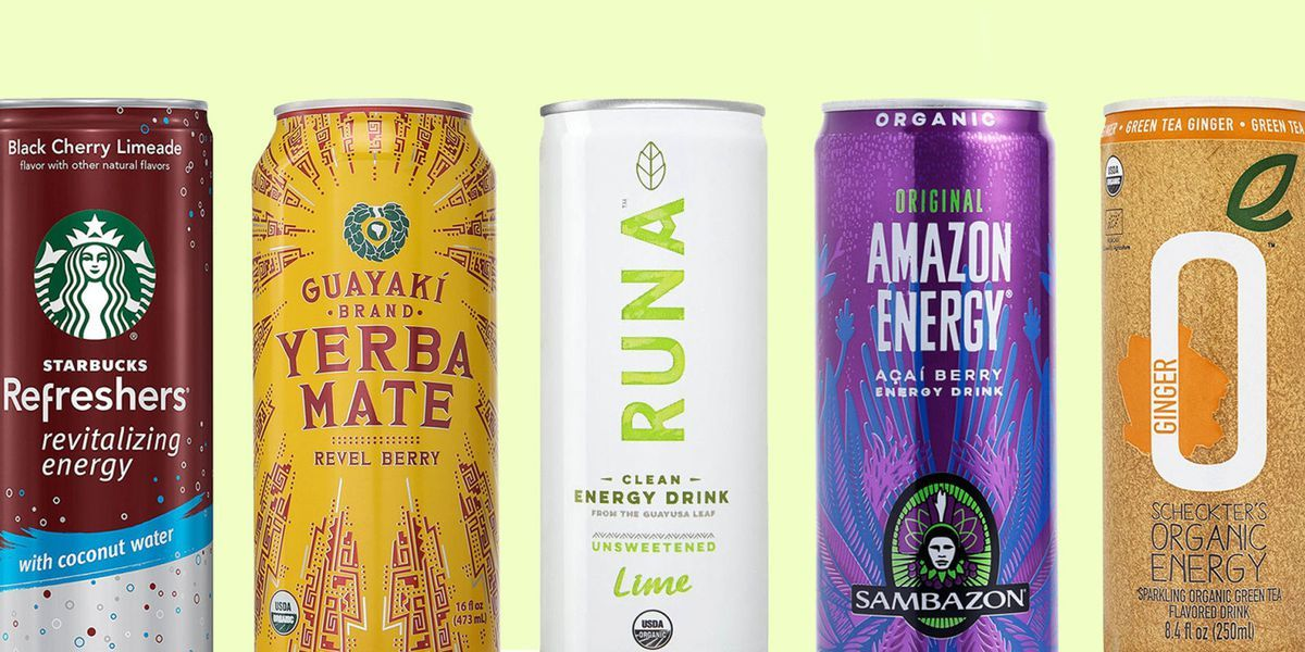 The 12 Best Energy Drinks Ranked By Taste Organic Energy Drinks Best Energy Drink Berry Drinks