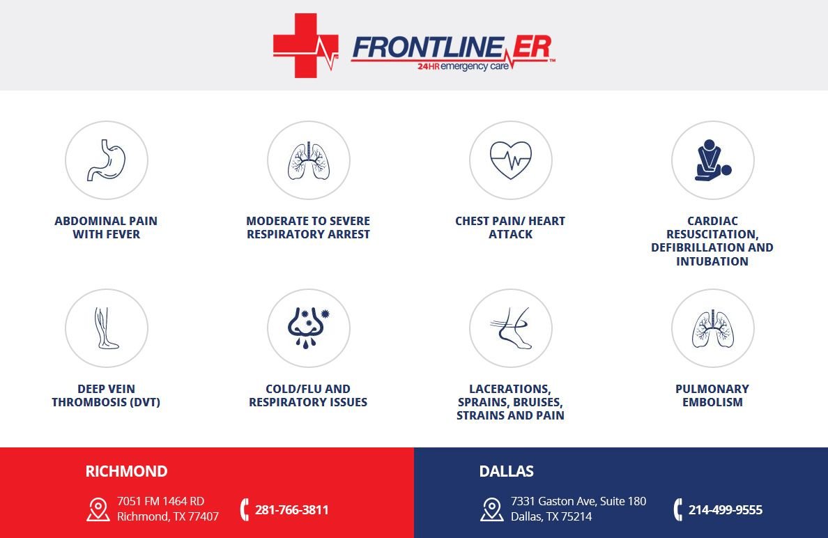 FrontlineER Emergency care Services for Dallas and