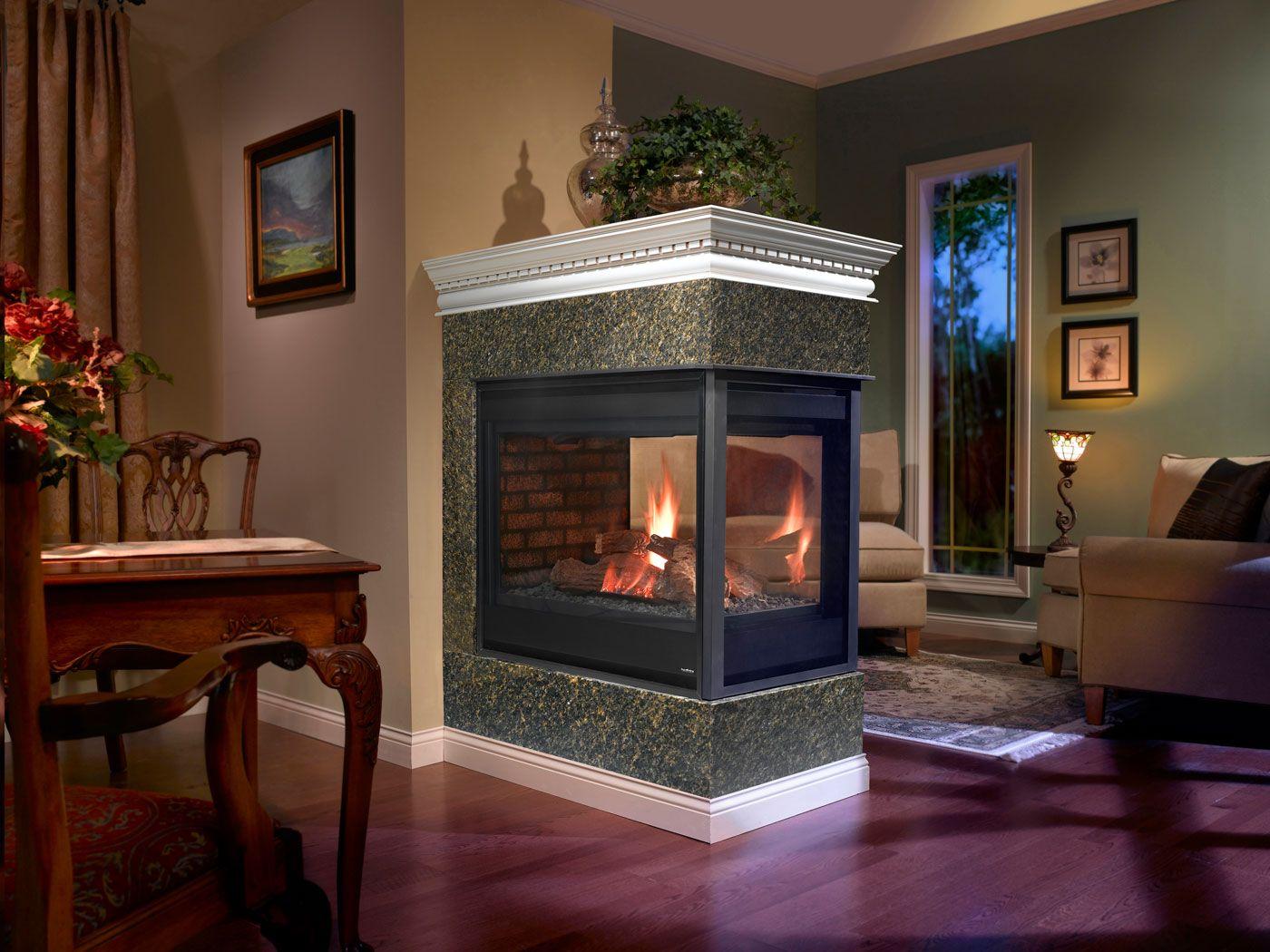 Heatilator Peninsula Gas Fireplace Fireplaces Gas