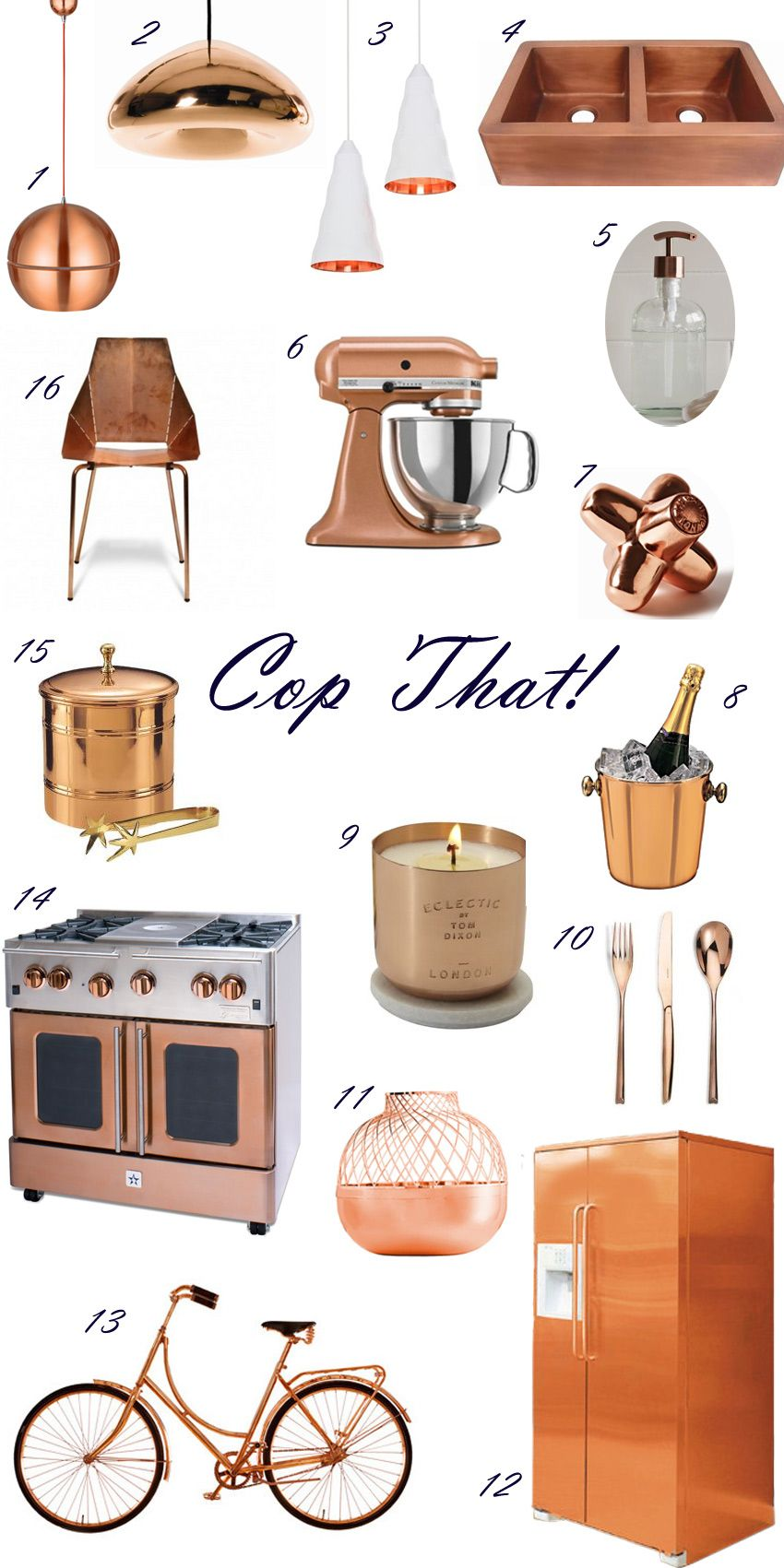 Kitchen With Copper Accents - Google Search