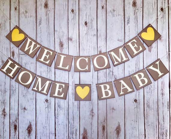 This Item Is Unavailable Etsy Welcome Home Baby Welcome Baby Banner Welcome Home Banners