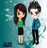 selleX and Anjo by selleXx