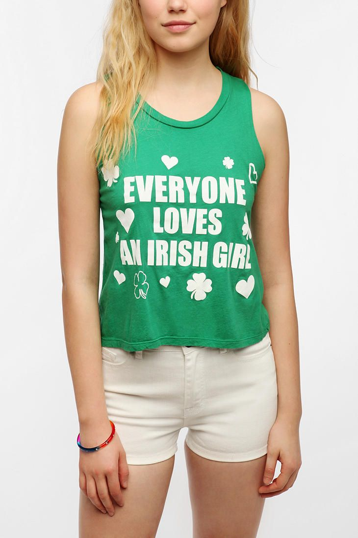 a6858601 Le Shirt Everyone Loves An Irish Girl Tee | • e x p r e s s ...