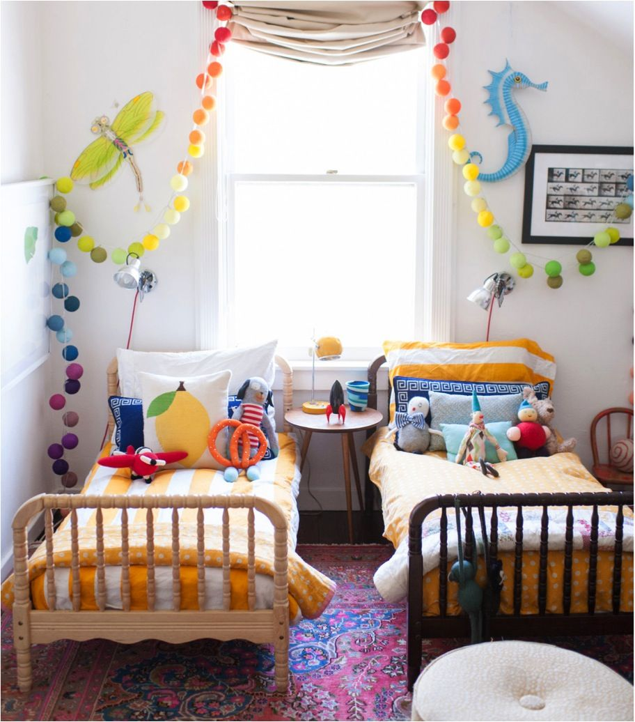 terrific kids bedroom ideas shared rooms | Shared Toddler Boy Room | tpaige.com | Toddler & Baby Room ...