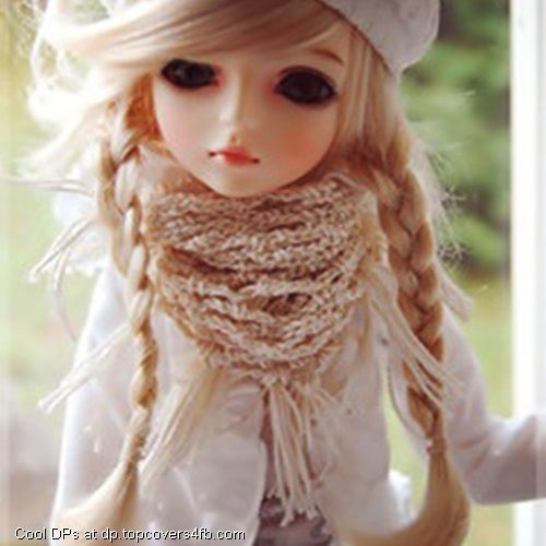 Cute Brown Hairs Doll Cool Display Pictures Poupees Bjd Doll Photos