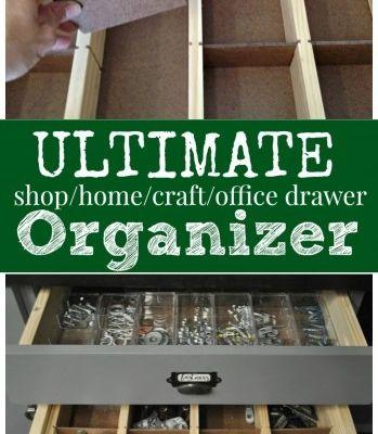 drawer organizer  sawdust2stitches