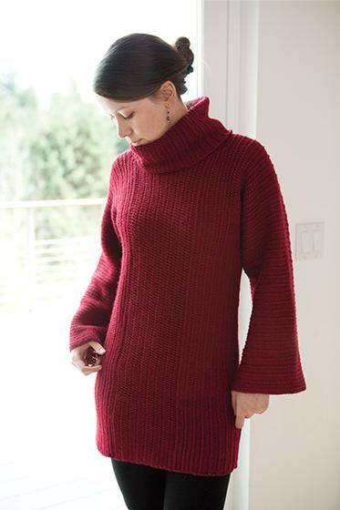 Lynwood Crochet Pullover, pattern for purchase