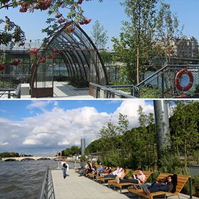 Jardins flottants de l\'Archipel des Berges de Seine Niki-de-Saint ...