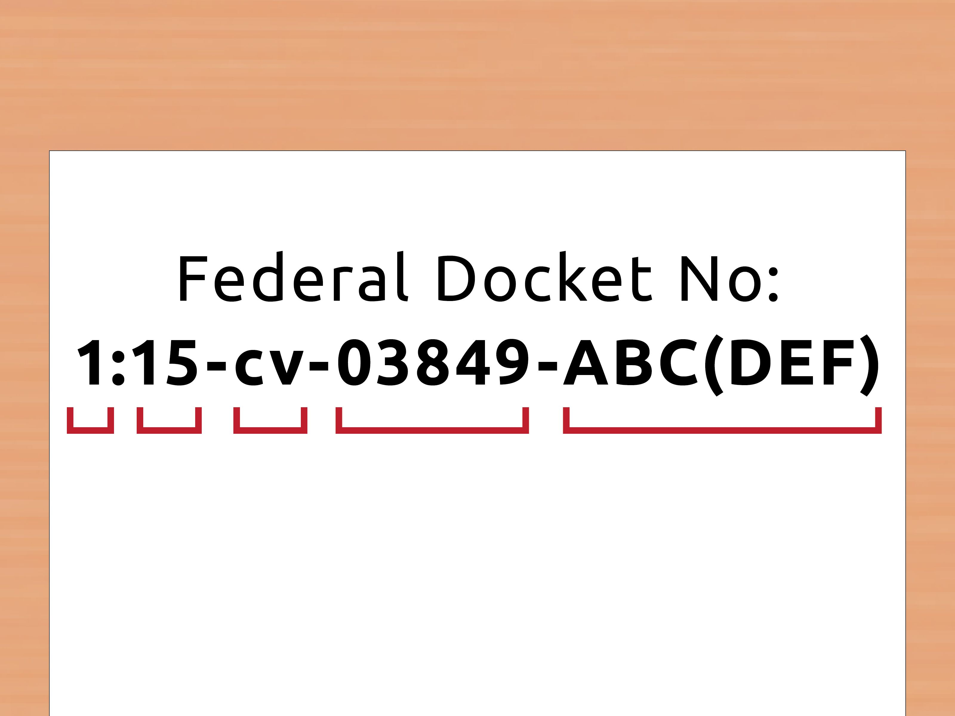 How To Look Up A Docket Number Court System Court Of Appeals Looking Up