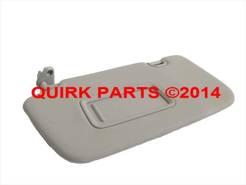 2008-2014 Subaru Impreza Interior Left Hand Sunvisor   Shade with Mirror  OEM NEW   76dc03daf54
