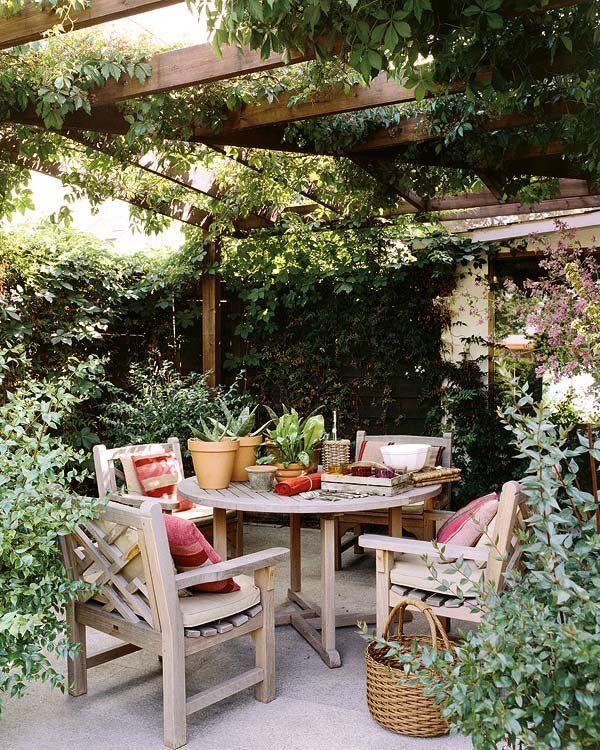 Una casa con edén privado | Terrazas, Jardín y Patios