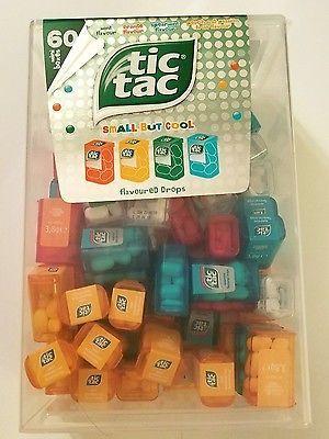 tic tacs big spender huge box 60 mini boxes 4 flavors about 8 mints