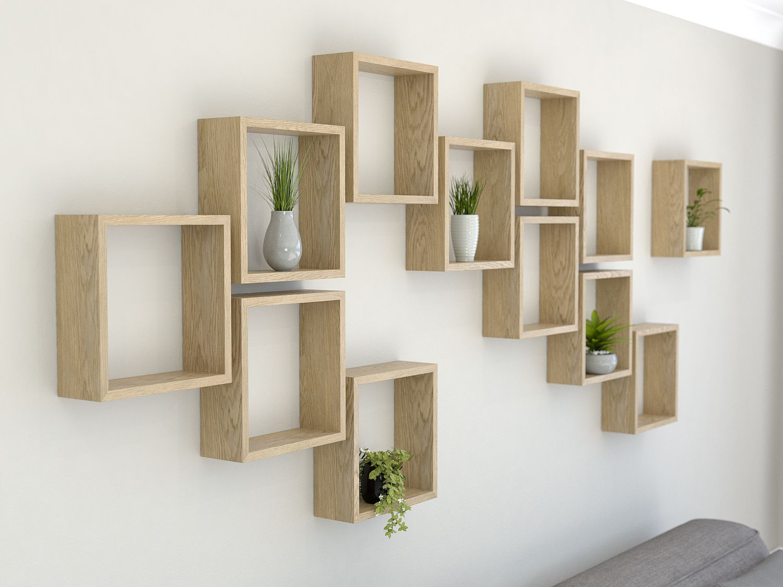 Cube Display Shelves | Wall decor