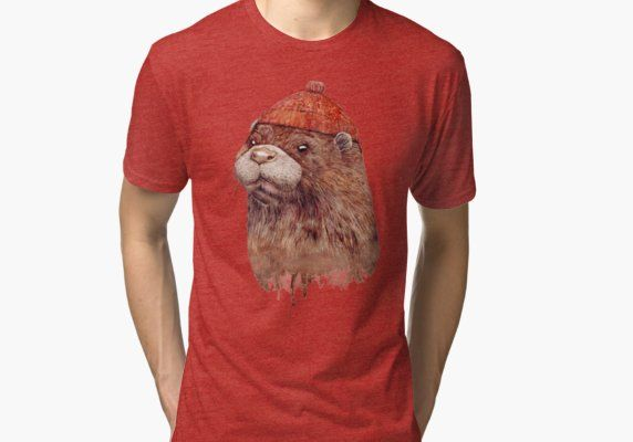 5493073197ac Otter | Tri-blend T-Shirt | Products | T shirt, Mens tops, Otters