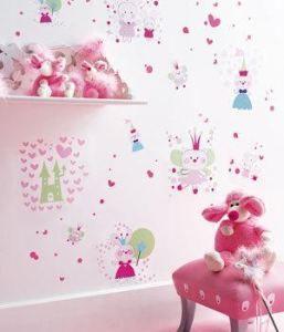 Kinderzimmer wandgestaltung feen  Feen Sticker | Wandgestaltung im Kinderzimmer | Kinderzimmer ...