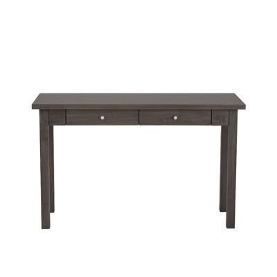 Urbangreen Hudson Console Table Finish: Yellow, Wood Veneer: Painted Eco MDF