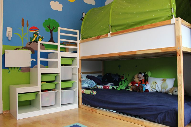 ein blick ins kinderzimmer teil 2 lattenrost gel nder. Black Bedroom Furniture Sets. Home Design Ideas