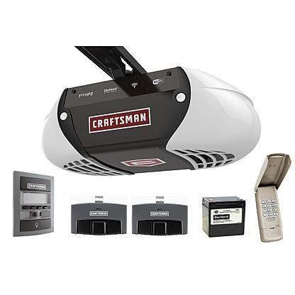 Craftsman 1 1 4 Hps Smart Garage Door Opener Smart Garage Door Opener Garage Door Opener Remote Craftsman Garage Door Opener