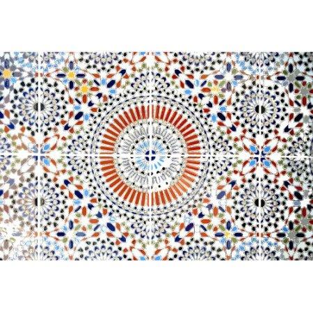Parvez Taj Kortoba Art Print On Premium Canvas, Size: 24 Inch X 16 Inch,  Multicolor