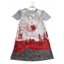 Beatiful black Children's Dress Paris London - Wholesale Childrens Clothing #WholesaleChildrensClothing #KidsFashion #WholesaleDress #WholesaleKidsClothingDistributors