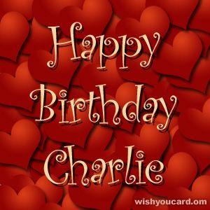 Happy Birthday Charlie Happy Birthday Wanda Happy Birthday