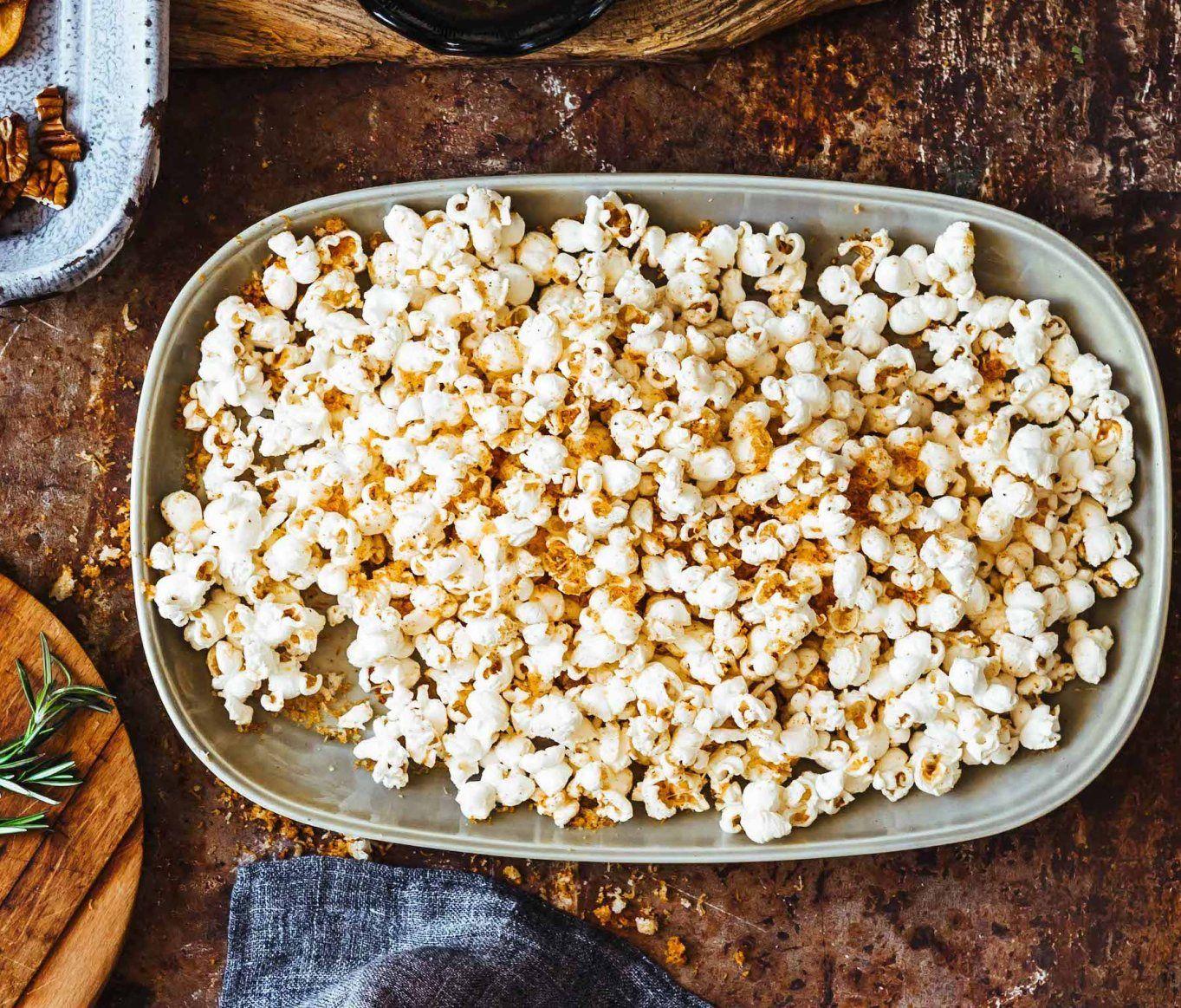Smoky Manchego Popcorn GlutenFree Recipe Gluten free