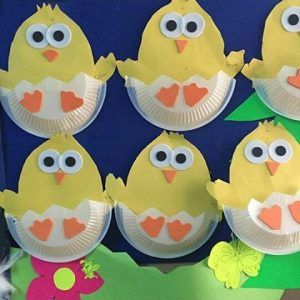 Chick craft ideas for kids & Chick craft ideas for kids | Craft Easter and Easter crafts