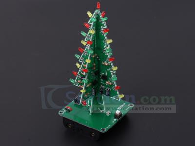 Diy Kit D Christmas Tree Kit With Rgb Flashing Lights For Soldering Practice Diy Electronic