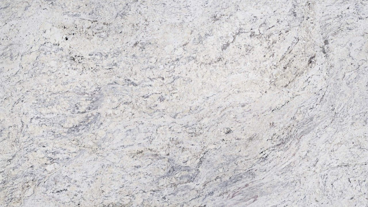 Snow White Granite Is A Pristine White Granite Reminiscent Of A Fresh Winter Snowfall This Veiny Natural Ston White Granite White Granite Countertops Granite