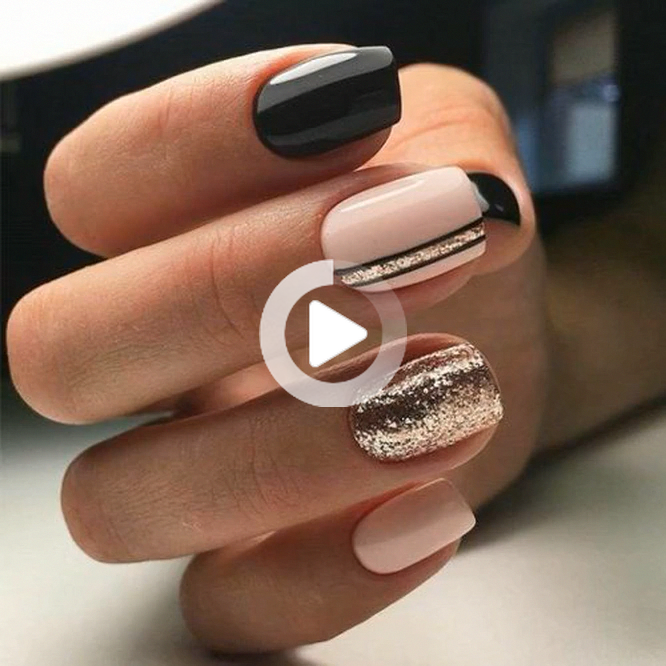 Easy, elegant and classy winter nails to celebrate Christmas and winte