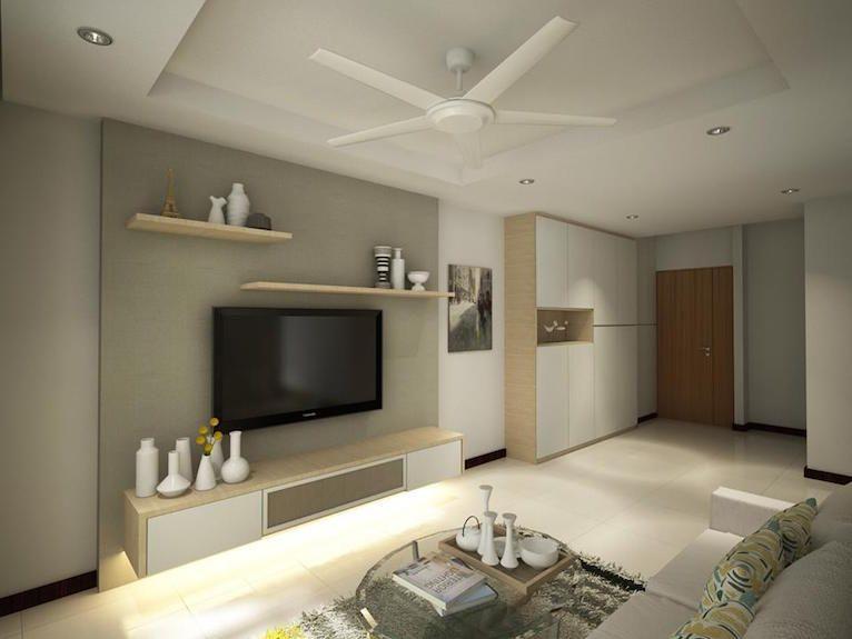 Hdb 4Room  Blk 526C Pasir Ris  Interior Design Singapore Amusing Hdb 4 Room Living Room Design Design Decoration