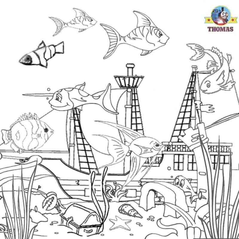 ocean life coloring pages preschool alphabet - photo #19