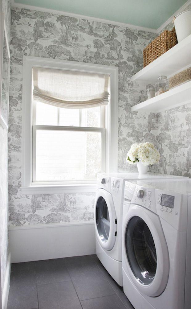 20 Luxurious Laundry Room Ideas Erin Gates Toile