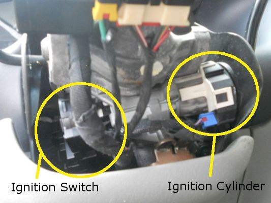 Dodge Grand Caravan Key Sticking In Ignition Replacing A Ignition