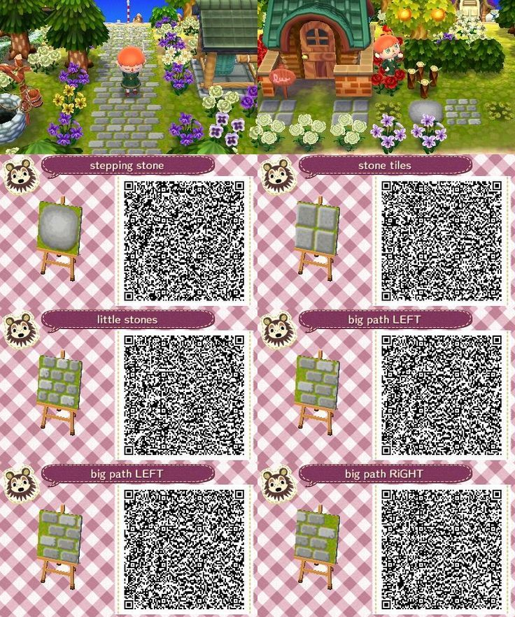 Stone Path Acnl Qr Code Google Search In 2020 Animal Crossing