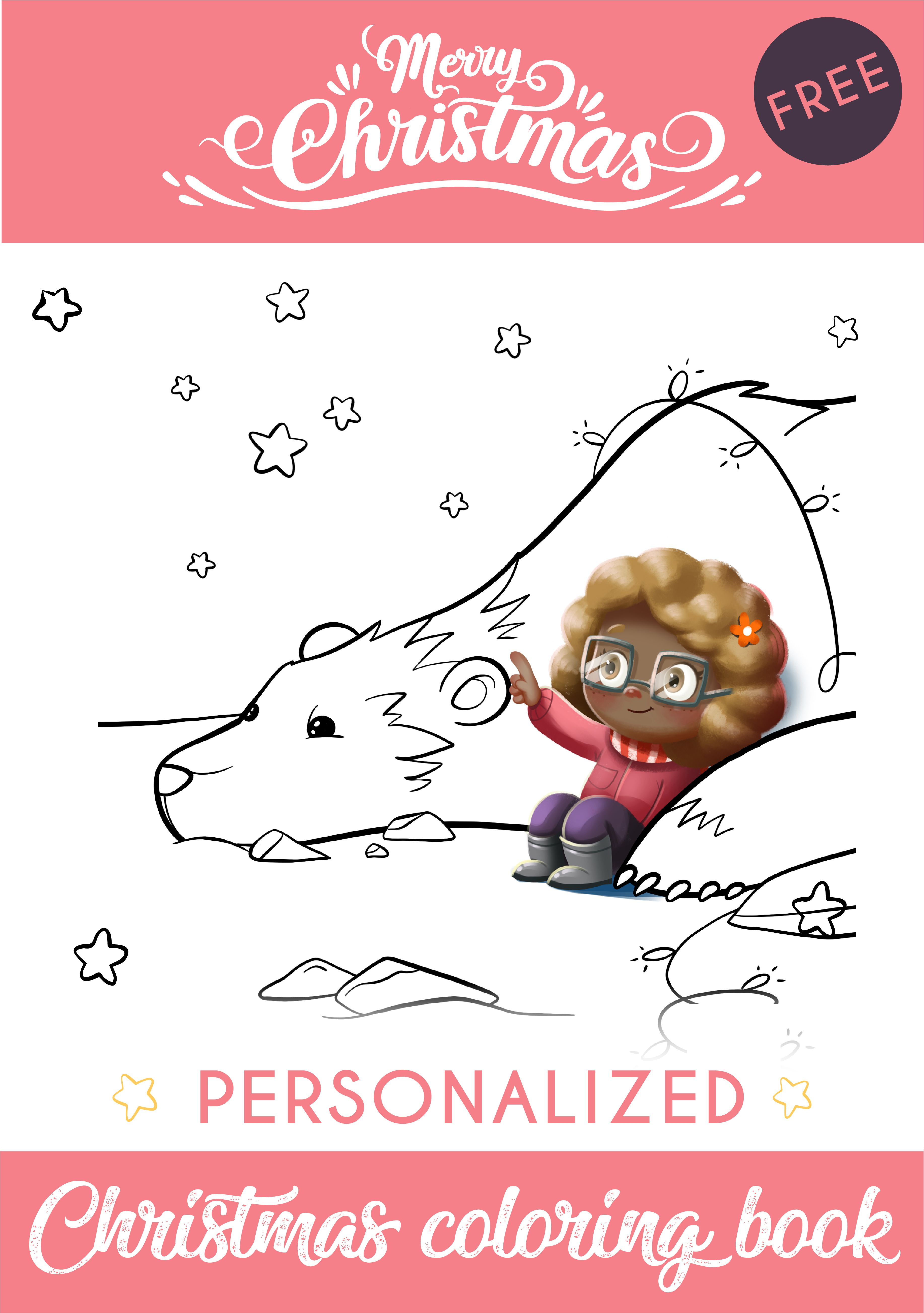 Free Personalized Christmas Coloring Book Christmas Coloring Books Coloring Books Personalized Coloring Book