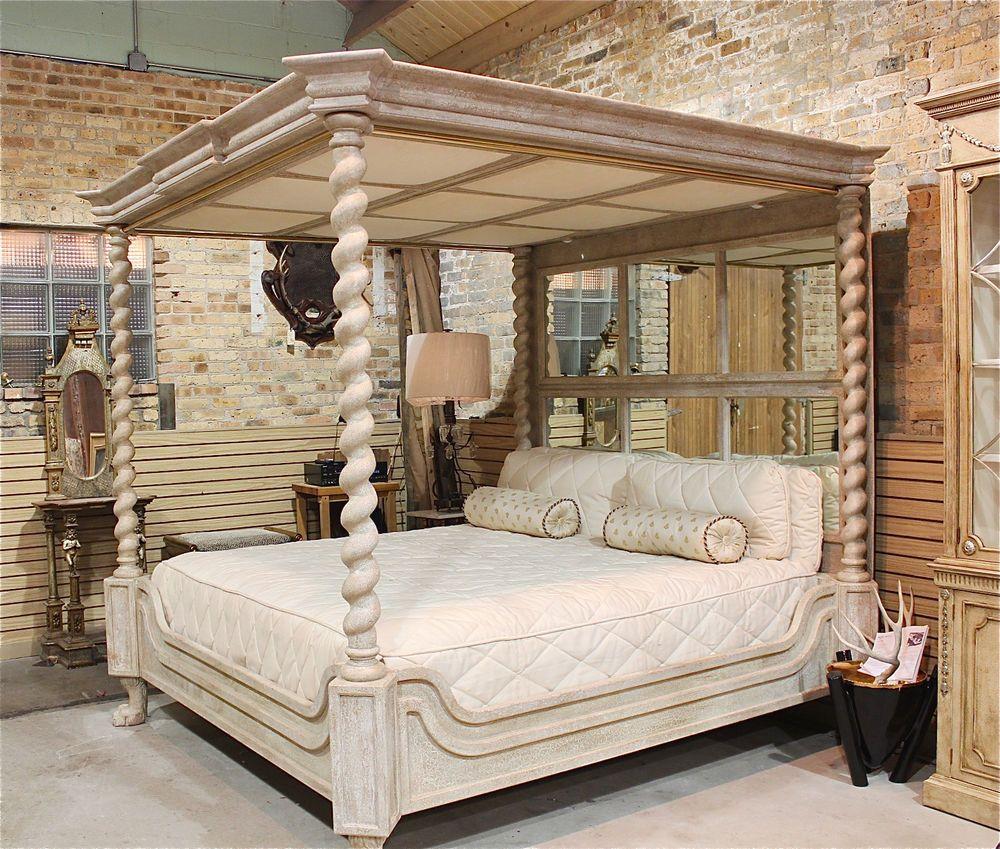 Best Phyllis Morris Canopy Bed Designer Custom Made King Size 400 x 300
