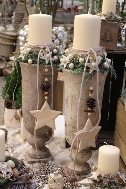70+ Simple And Popular Christmas Decorations #candlediy