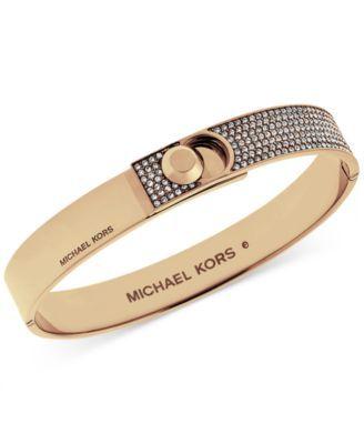 MICHAEL KORS Michael Kors Pavé Foldover Bracelet . #michaelkors #jewelry