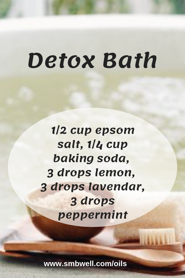 This diffuser blend is great for Detox Bath. I'm a mom of 3 teenage boys and young living essential oils help me with my busy working mom and stay at home mom life. They help me with anxiety, moods, energy, and random house smells. Love my essential oils!!