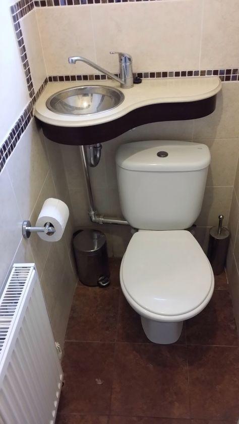 Installation Dune Toilette Avec Lavabo Intégré Casas En 2019