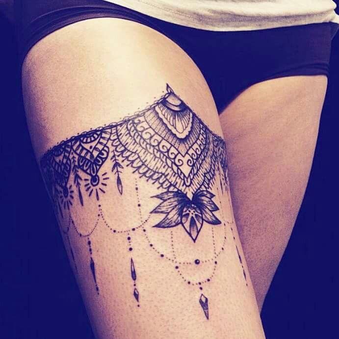 Tatoo Cuisse Tattoos Pinterest
